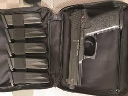 100 Hk Mark 24 HK MK23 Pistol W 6 12rd Mags And Nylon HK Case For Sale