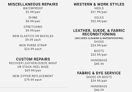 Shoe Repair Services | Leather Boot & Handbag Repairs | DSW Golf Galaxy Coupons May 2019 Darigold Milk Dsw Card Balance Shoe Carnival Mayaguez Birthday Freebie Dsw Designer Warehouse Freebie Depot How Much Do Ross Employees Make Aida Bicaj Coupon Code Mobile App Shopping Grab Malaysia Promo First Ride Peking Kitchen Quincy V8 Juice Canada Printable Coupons Ps3 Games Stein Mart Discounts Promo Codes Connaught Shaving Promotional Biggby Coffee Crocs 10 Off Coupon Phillyko Korean Community In Pa Nj De Go Sports Code