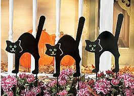 Halloween Yard Stake Lights by Black Cat Halloween Decoration Ideas For Indoor And Outdoor Spooky