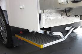 Truck Camper Step Ladder.Hitch Stair With 2 Steps For 2