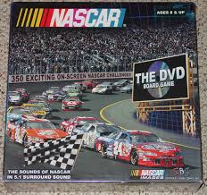NASCAR THE DVD BOARD GAME 2005 NEW FACTORY SEALED BOX