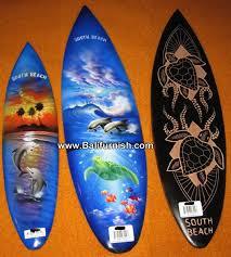 Decorative Surfboard Wall Art by Surfboard Wood Handicrafts From Bali Indonesia