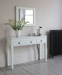 Narrow Sofa Table With Storage by Console Tables White Sofa Table Small Console For Hallway With