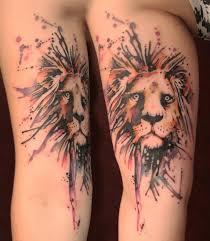 Lion By Gene Coffey TattooNOW