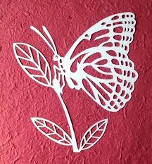 Free Butterfly Paper Cutting Template Craft A Patterns