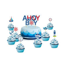Set Of 9 Ahoy Boy Nautical Theme First Birthday Party Baby ... Mixed Race Mother Giving Baby Son Cupcake In High Chair Magical Unicorn 1st Birthday Smash Cake Cupcake Wooden Dolls 43cm Abingdon Oxfordshire Gumtree Outflety Toppers Price Malaysia Best Elc Twin And Pushchair Bouncer With Accsories Stoke Gifford Bristol High Chair Banner First Baby Boy 1217 Months Sitting Holding On Fire Sling By Budikwan Bana Lala Party Cupcakes Turquoise Beanbag Jr Camden Bakers Cupcakes Bring Hundreds Of Foodies To Town