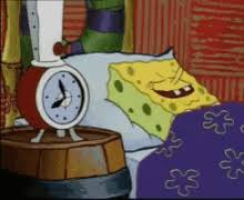 Sleeping Spongebob Gifs Tenor