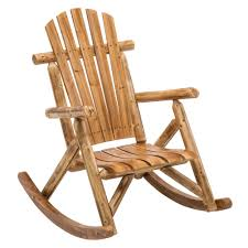 Outdoors : Outdoor Cedar Log Chairs Extra Long Chair ...