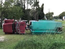 100 Fertilizer Truck Truck Overturns In West Green