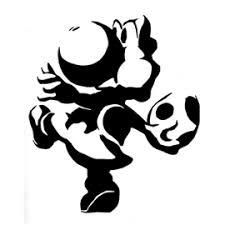 Mario Pumpkin Carving Templates by Yoshi Stencil Free Stencil Gallery