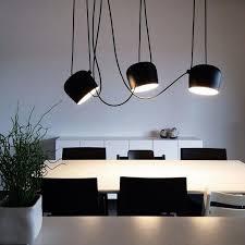 2017 led lights aluminium flos aim white black e27 pendant l