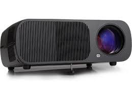 irulu bl20 led portable projector home theater black vga