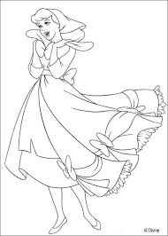 Cinderella Cleaning The House Coloring Pages