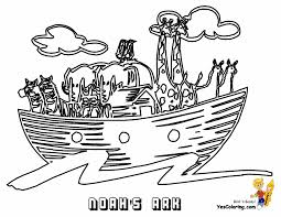 Bible Colouring Book Page Noah Ark At YesColoring