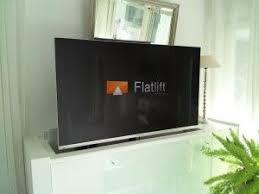 tv lift projekt fernseher verstecken wohnzimmer tv