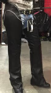 studded hip hugger women leather chap