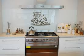 Stunning Design Of The Kitchen Wall Decor Ideas With White Wooden Cabinets And