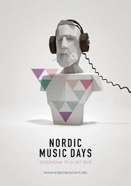 Cool Graphic Design NORDIC MUSIC DAYS Graphicdesign Poster