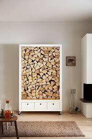 selbstgebautes regal für brennholz neben bild kaufen
