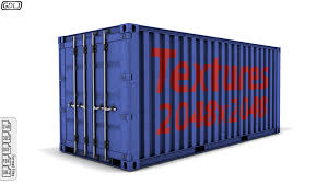 100 Shipping Container Model Detailed