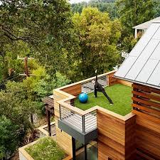 Home Yoga Room Outside Balcony