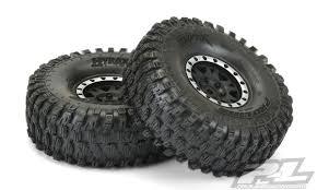 100 Truck Tired ProLine Hyrax 19 G8 Rock Crawler Tires On BlackSilver