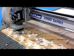 Wood Machinery Show Las Vegas by Multicam Cnc Machines From The 2013 Isa Show In Las Vegas Youtube