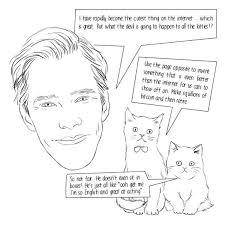 Benedict Cumberbatch Coloring Book We Geek Girls