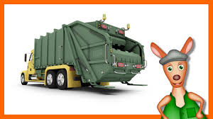 GARBAGE TRUCK | Truck Videos For Kids. Preschool & Kindergarten ...