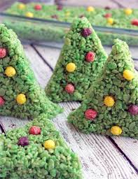 Rice Krispie Christmas Tree Ornaments by Christmas Tree Rice Krispy Treat Recipe Diycandy Com