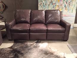 connery reclining sofa by bradington young leather reclining
