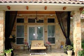 Innovative Mosquito Netting Curtains For Patio and How To Screen A