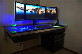 ordinateur de bureau pour gamer bureau ordinateur gamer le des geeks et des gamers