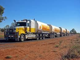 100 Trains Vs Trucks Train Is Seeing An Outback Roadtrain Pulling Into A Truck