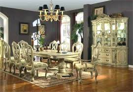 Dining Room Sets For 10 Formal Dinette With China Cabinet
