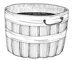 Mormon Share Bushel Basket