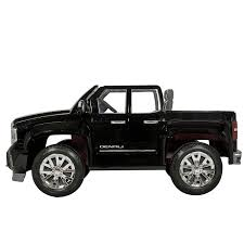 Amazon.com: Rollplay GMC Sierra Denali 12 Volt Ride-On Vehicle ... Amazoncom Kids 12v Battery Operated Ride On Jeep Truck With Big Rbp Rolling Power Wheels Wheels Sidewalk Race Youtube Best Rideontoys Loads Of Fun Riding Along In Their Very Own Cars Kid Trax Red Fire Engine Electric Rideon Toys Games Tonka Dump As Well Gmc Together With Also Grave Digger Wheels Monster Action 12 Volt Nickelodeon Blaze And The Machine Toy Modded The Chicago Garage We Review Ford F150 Trucker Gift Rubicon Kmart Exclusive Shop Your Way Kawasaki Kfx 12volt Battypowered Green