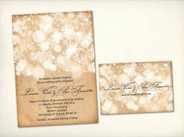 Luxury Vintage Winter Wedding Invitations For Modern Rustic 37 Uk