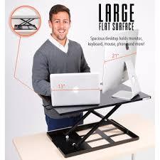 Standing Desk Top Extender Riser by X Elite Pro Sit Stand Standing Desk Stand Steady