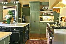 Sage Green Kitchen Cabinets And An Awesome Terrific