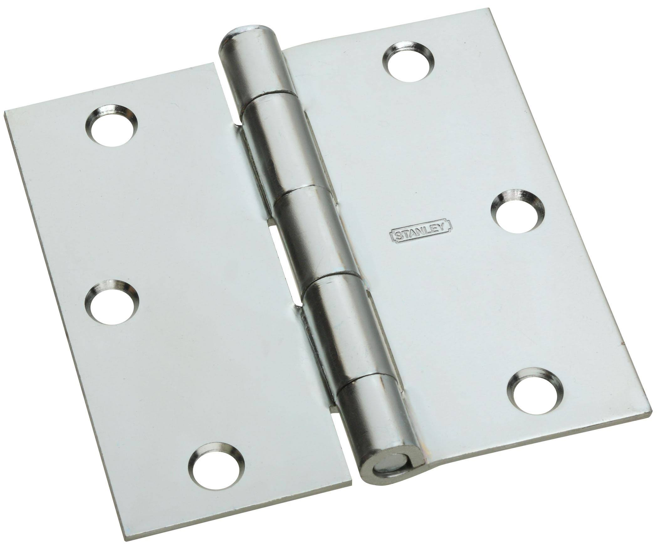 National Hardware N830-196 Door Hinge - Zinc, 3""