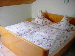 schlafzimmer der ferienwohnung bayerischer wald