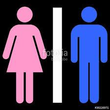 picto toilettes homme femme photo libre de droits sur la banque