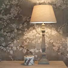 Waterford Lamp Shades Table Lamps by Tall Slim Grey Wash Wooden Table Lamp With Shade Wooden Table