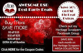 DSD2018 Post Party Celebration & Scrapbooking Deals - ADB ...