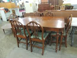 ROCKFORD CABINET WORKS DINING TABLE & CHAIRS