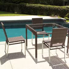 modern glass dining tables allmodern tower extendable table loversiq