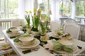 How To Decorate Kitchen Table For Easter Inspirational Set A Beautiful Spring Melanie