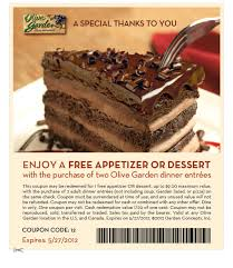Olive Garden Coupon Free Appetizer or Dessert 24 7 Moms