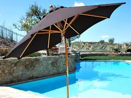 9 Ft Patio Umbrella Target by Outdoor Offset Patio Umbrella Costco For Your Patio Design Ideas